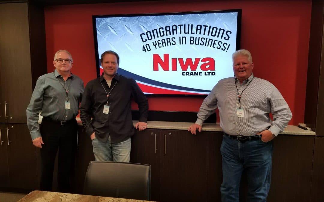 40 Years of Community Support: Niwa Crane Ltd.